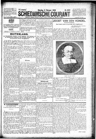 Schiedamsche Courant 1929-02-05