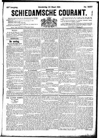 Schiedamsche Courant 1916-03-23