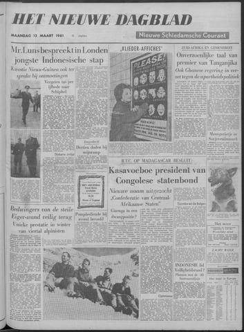 Nieuwe Schiedamsche Courant 1961-03-13