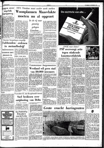 Trouw / De Rotterdammer 1969-11-05