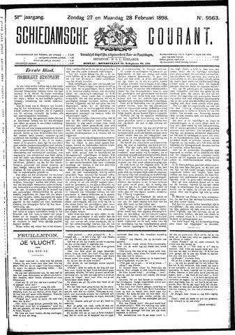 Schiedamsche Courant 1898-02-28