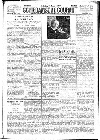 Schiedamsche Courant 1927-01-15