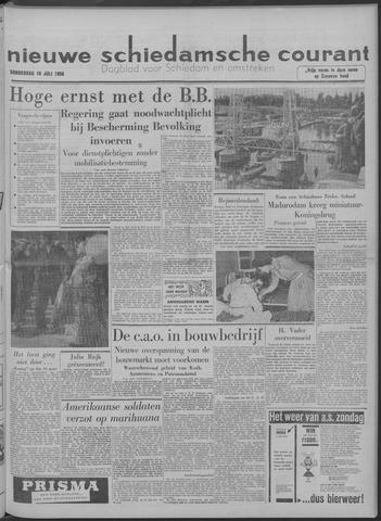Nieuwe Schiedamsche Courant 1958-07-10
