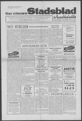 Het Nieuwe Stadsblad 1960-09-14