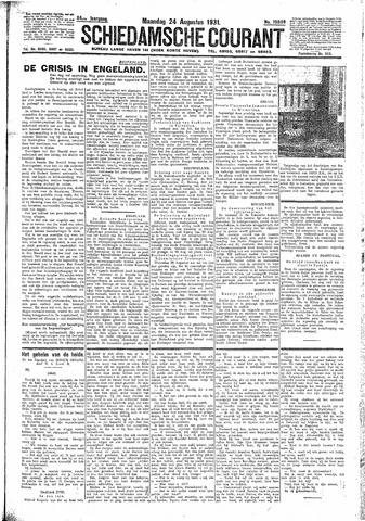 Schiedamsche Courant 1931-08-24