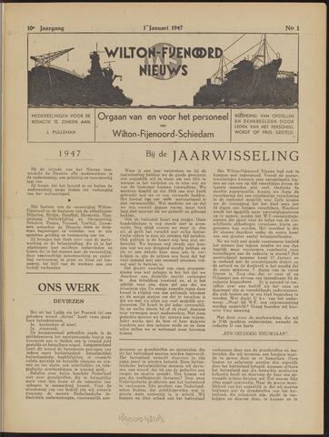Wilton Fijenoord Nieuws 1947