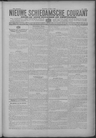 Nieuwe Schiedamsche Courant 1925-03-18