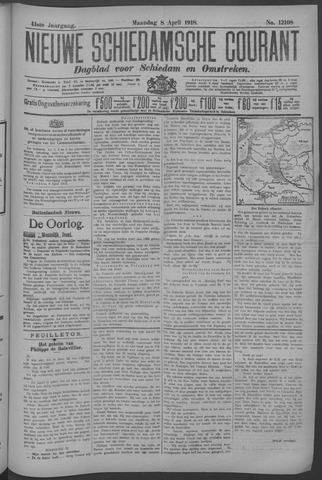 Nieuwe Schiedamsche Courant 1918-04-08