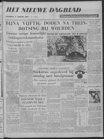 Nieuwe Schiedamsche Courant 1962-01-08