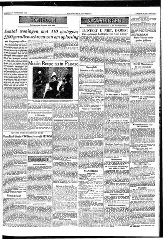 Rotterdamsch Nieuwsblad / Schiedamsche Courant / Rotterdams Dagblad / Waterweg / Algemeen Dagblad 1953-11-07
