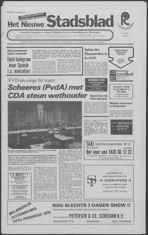 Het Nieuwe Stadsblad 1975-10-01