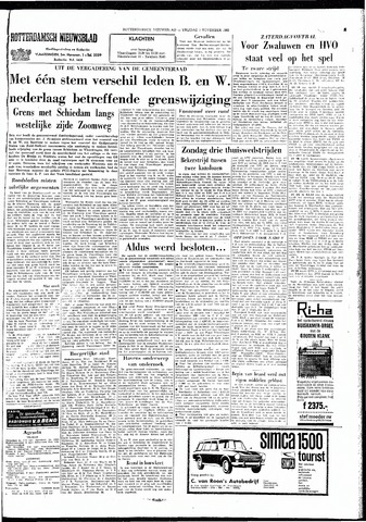 Rotterdamsch Nieuwsblad / Schiedamsche Courant / Rotterdams Dagblad / Waterweg / Algemeen Dagblad 1965-11-05