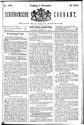 Schiedamsche Courant 1879-12-05