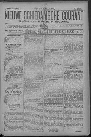 Nieuwe Schiedamsche Courant 1917-02-23