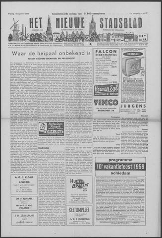 Het Nieuwe Stadsblad 1959-08-14