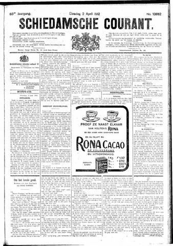 Schiedamsche Courant 1912-04-02