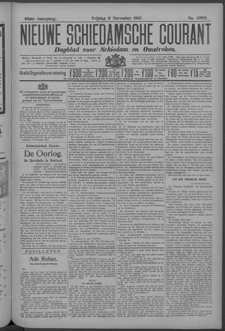 Nieuwe Schiedamsche Courant 1917-11-09