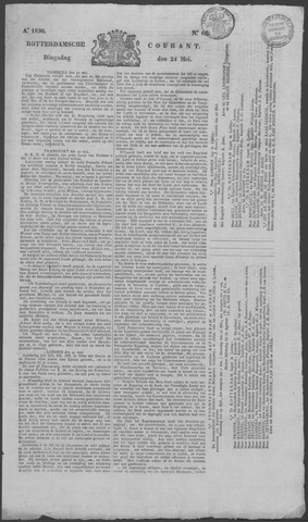 Rotterdamse Courant 1836-05-24