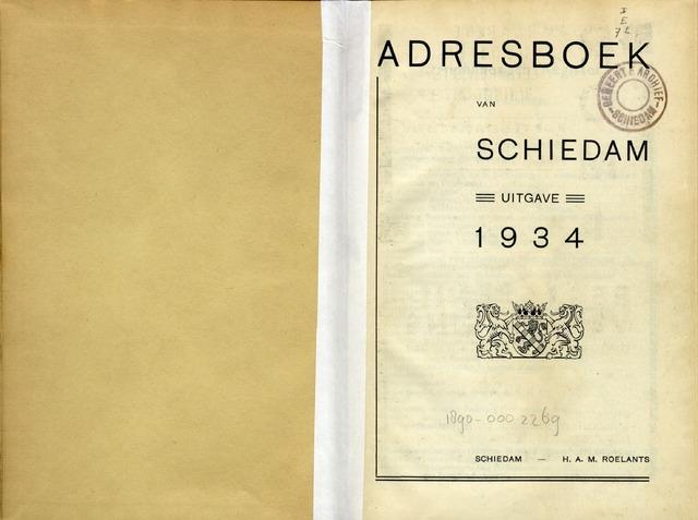 Adresboeken 1934