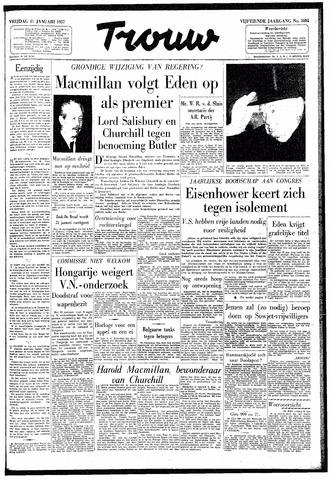 Trouw / De Rotterdammer 1957-01-11