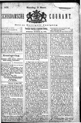 Schiedamsche Courant 1879-03-31