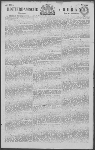 Rotterdamse Courant 1851-12-13