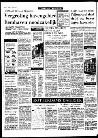 Rotterdamsch Parool / De Schiedammer 1968-02-23