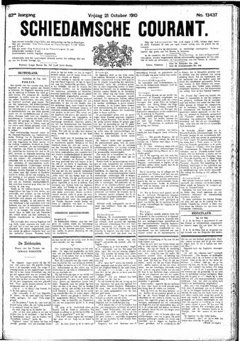 Schiedamsche Courant 1910-10-21