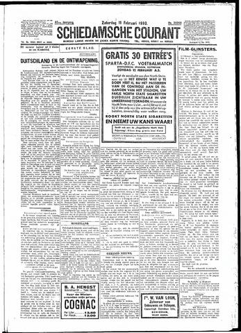 Schiedamsche Courant 1933-02-11