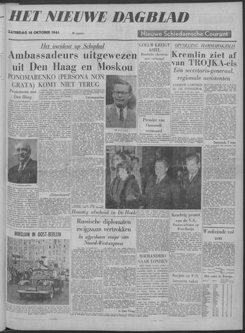 Nieuwe Schiedamsche Courant 1961-10-14