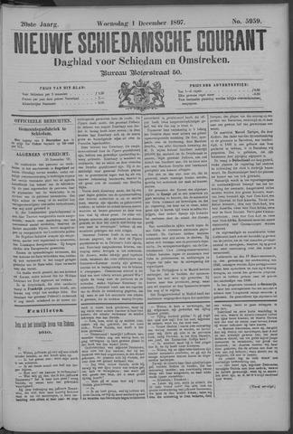 Nieuwe Schiedamsche Courant 1897-12-01