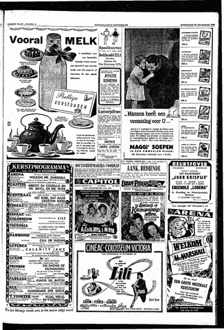 Rotterdamsch Nieuwsblad / Schiedamsche Courant / Rotterdams Dagblad / Waterweg / Algemeen Dagblad 1953-12-23