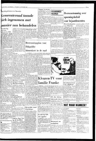 Rotterdamsch Nieuwsblad / Schiedamsche Courant / Rotterdams Dagblad / Waterweg / Algemeen Dagblad 1968-12-11