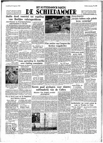 Rotterdamsch Parool / De Schiedammer 1948-08-26
