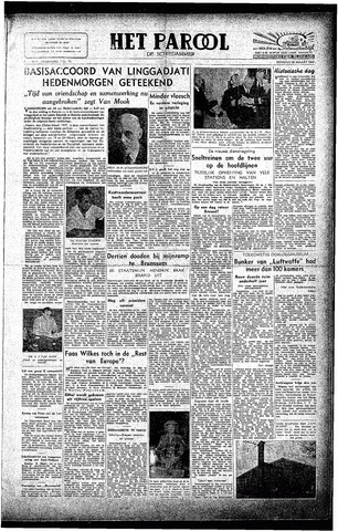 Rotterdamsch Parool / De Schiedammer 1947-03-25