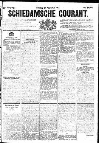 Schiedamsche Courant 1912-08-27