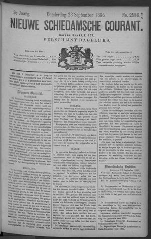 Nieuwe Schiedamsche Courant 1886-09-23