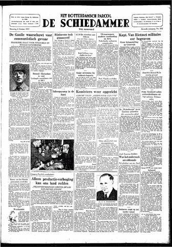 Rotterdamsch Parool / De Schiedammer 1947-10-06