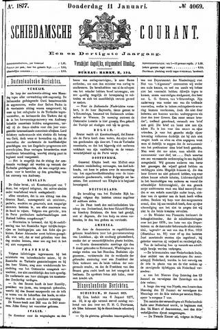 Schiedamsche Courant 1877-01-11