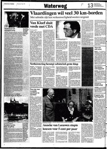 Rotterdamsch Nieuwsblad / Schiedamsche Courant / Rotterdams Dagblad / Waterweg / Algemeen Dagblad 1991-07-10