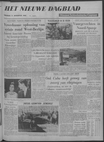 Nieuwe Schiedamsche Courant 1961-08-11