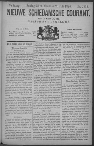Nieuwe Schiedamsche Courant 1886-07-26