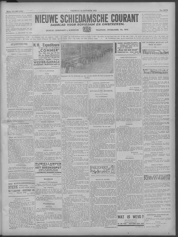 Nieuwe Schiedamsche Courant 1933-10-13