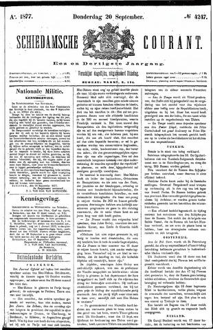 Schiedamsche Courant 1877-09-20
