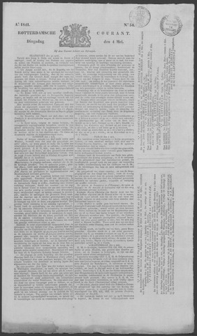 Rotterdamse Courant 1841-05-04