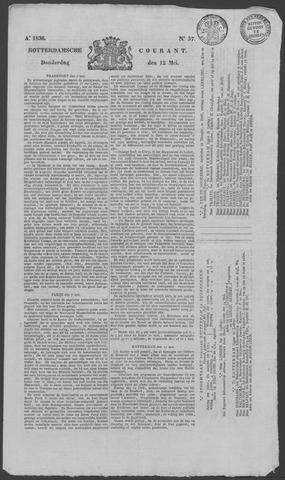 Rotterdamse Courant 1836-05-12