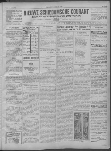 Nieuwe Schiedamsche Courant 1932-01-08