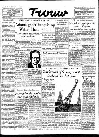 Trouw / De Rotterdammer 1958-09-23