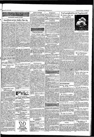 Rotterdamsch Nieuwsblad / Schiedamsche Courant / Rotterdams Dagblad / Waterweg / Algemeen Dagblad 1953-07-17