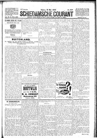 Schiedamsche Courant 1929-05-10